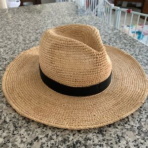 Jcrew straw hat